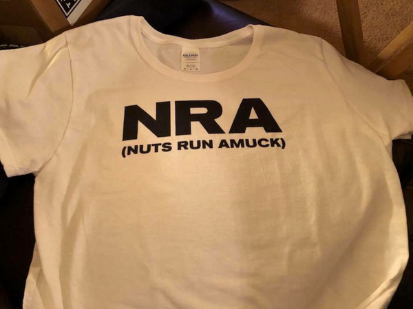 Women's Nuts Run Amuck T-Shirt