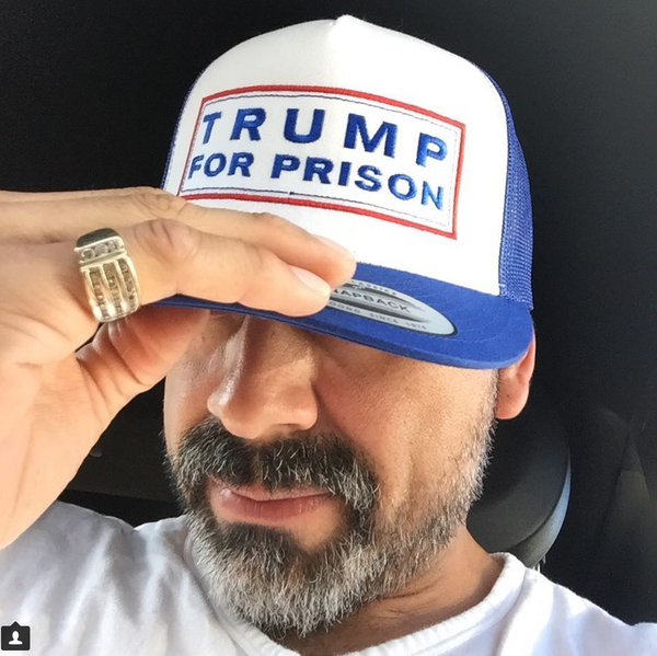 Trump For Prison Multicolor Trucker Hat