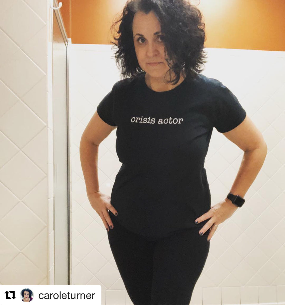 Women's Crisis Actor T-Shirt