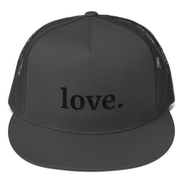 Love Trucker Cap (black)