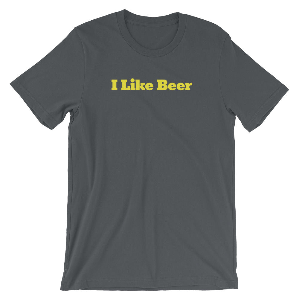 I Like Beer Unisex T-Shirt