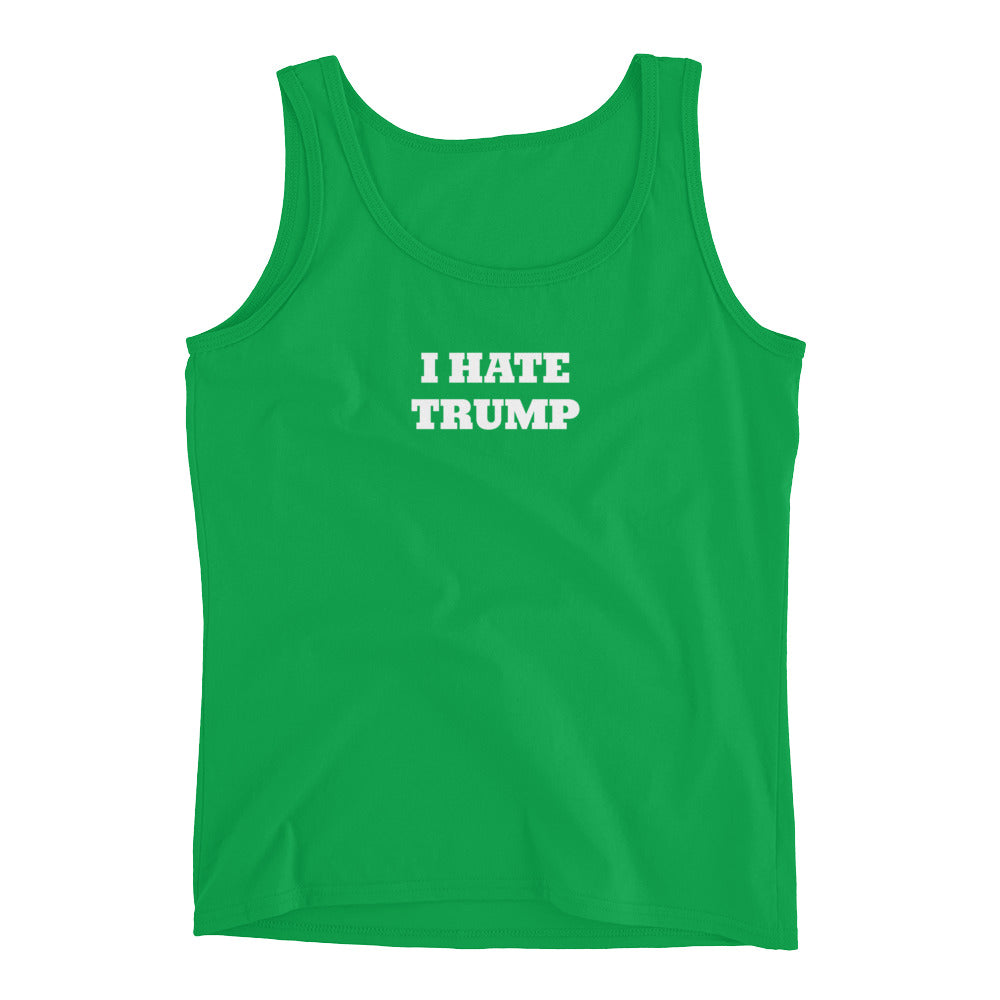 Women's I Hate Trump Tank