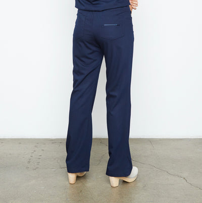 Maverick Pant - Petite (Really Dark Navy)
