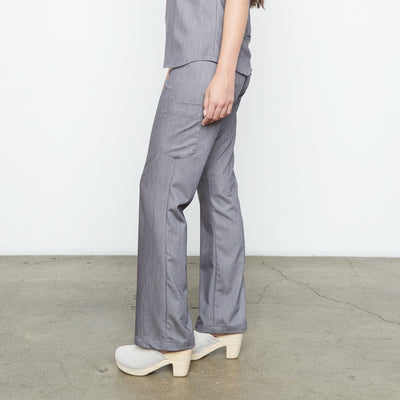 Maverick Pant - Petite (Granite Smoothie) | Fabled fashion scrub store has cute scrubs for sale, including fashion scrub pants and cute scrub pants.