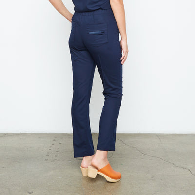 Harley Pant (Really Dark Navy) | Fabled fashion scrub store has cute scrubs for sale, including fashion scrub pants and cute scrub pants.