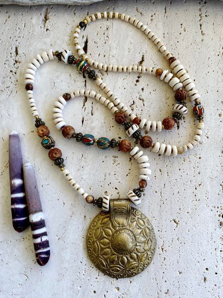 Bohemian African Necklace
