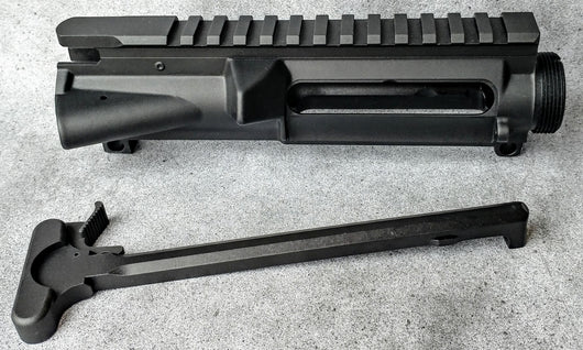 BUNDLE AND SAVE COMBO: Ar15 STRIPPED A3 UPPER RECEIVER W/M4 FEED RAMPS
