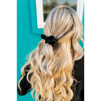 Black Matte Scrunchie