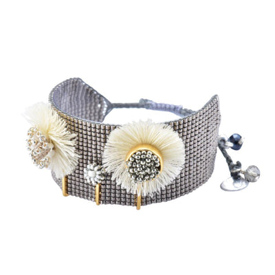 "Mishky Bloom Bracelet  (1"" Wide)"