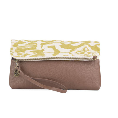 Have We Met? Fold Over Clutch