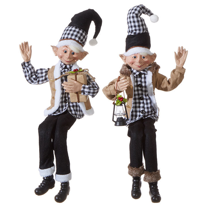"Christmas Elves 30"" Poseable"