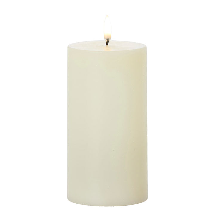 Flickering Ivory Candles