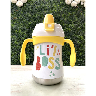 Stainless Steel Sippy Cup Cute & Funny Sayings