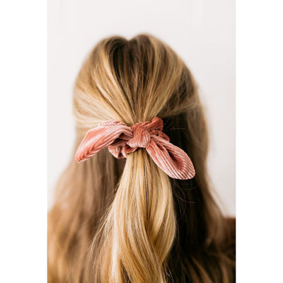 Lyd Pleated Scrunchie