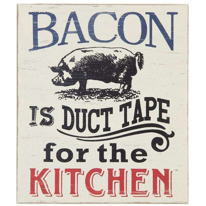 Bacon Kitchen Sign