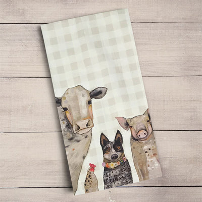 Cattle Crew Tea Towel