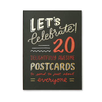 Let's Celebrate Postcard Book