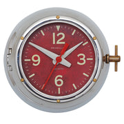 Deep Sea Wall Clock Aluminum