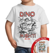 Dino Might Crew Shirt