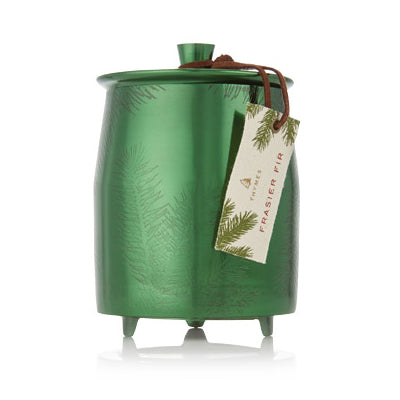 Frasier Fir Green Metal Tin