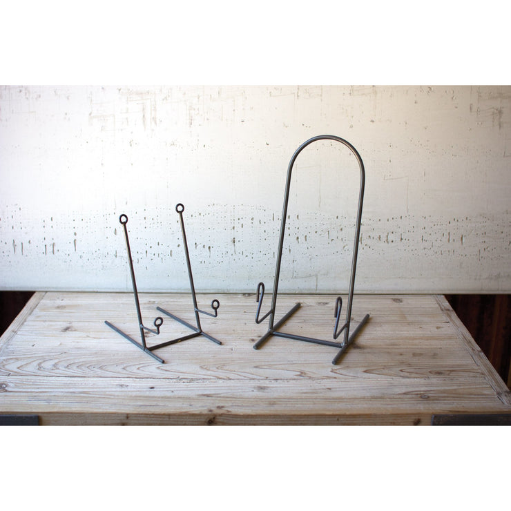 HEAVY IRON PLATE STAND
