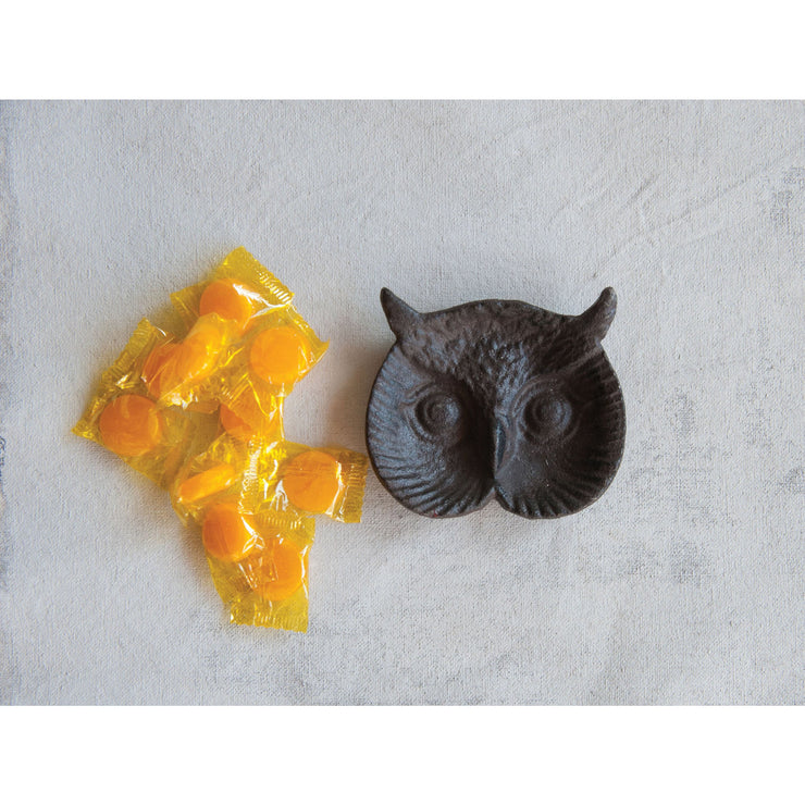 Cast Iron Owl Plate