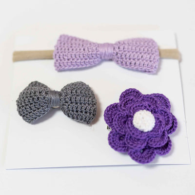 Molly's Bow - Handmade Crochet Bows