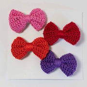 Oakley Bows - Handmade Crochet Bow Set
