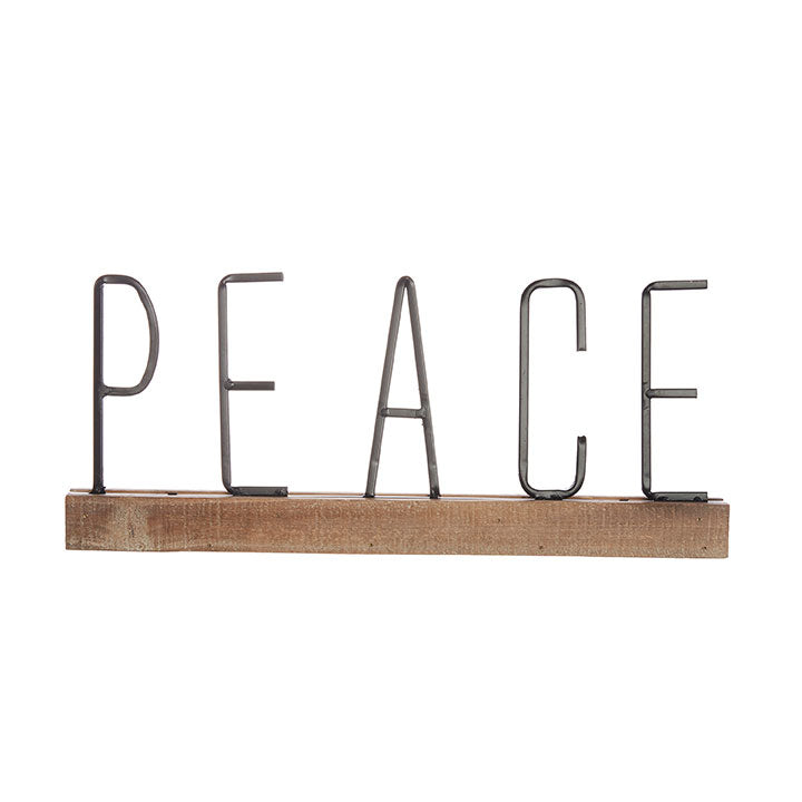 JOY and Peace Word Art