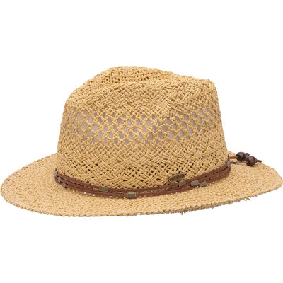 Regan Wicker Fedora-Womens