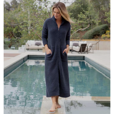 CozyChic Full zip Robe by Barefoot Dreams