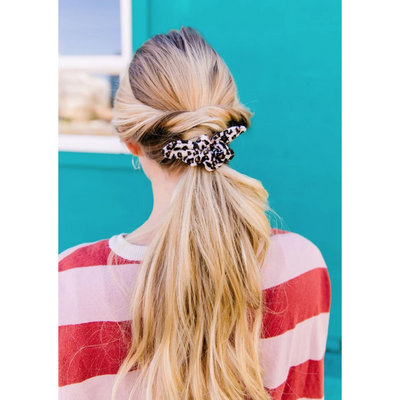 Mini Cheetah Scrunchie