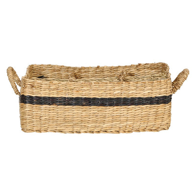 Seagrass Basket W/6 Compartments