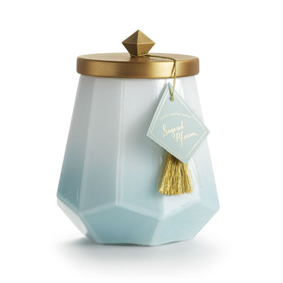Sugared Blossom Laurel Tassel Candle