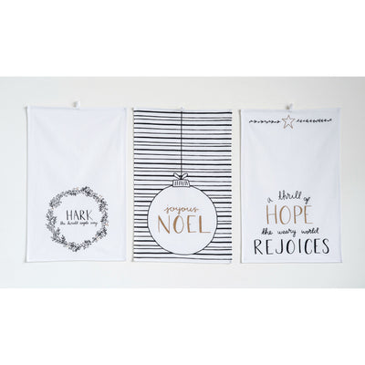 Shimmer Christmas Tea Towels