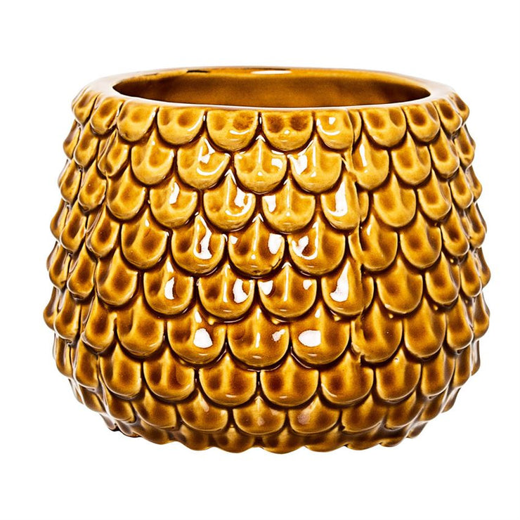 Honey Gold Vase