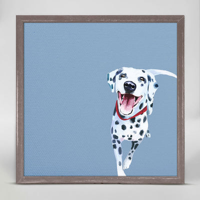 Detail View 7 Best Friend - Dalmatian Mini Framed Canvas