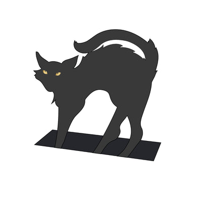 Black Cat Place Card