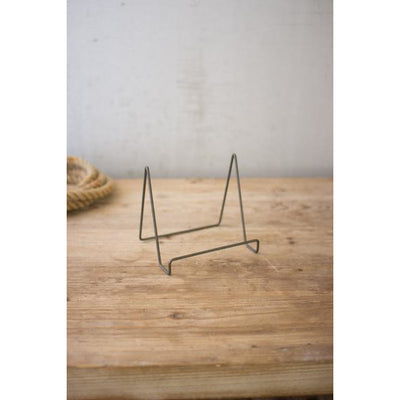 Raw Metal Wire Easel