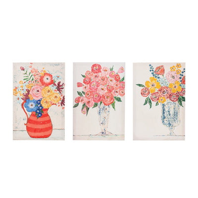 Whimsical Floral Canvas