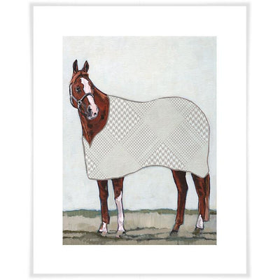 Chestnut Pony - Canvas Wall Art