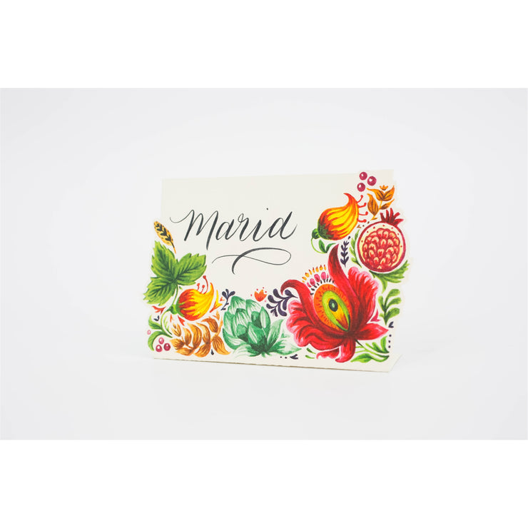 Bountiful Place Card