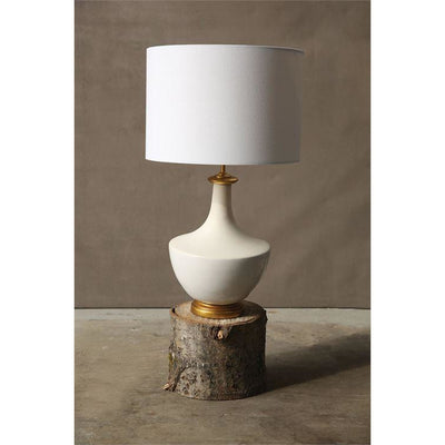 Modern White Table Lamp