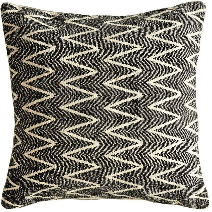 Black Chevron Pillow