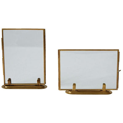 Brass Standing Photo Frame