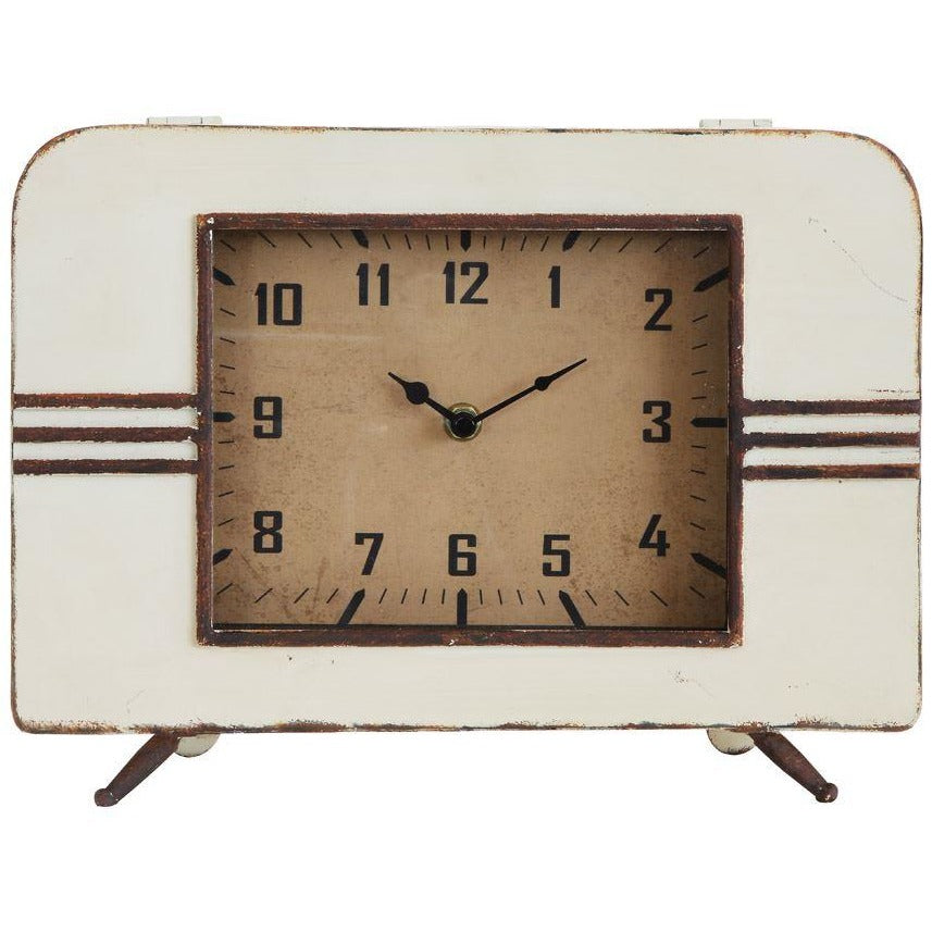 Metal Mantel Clock