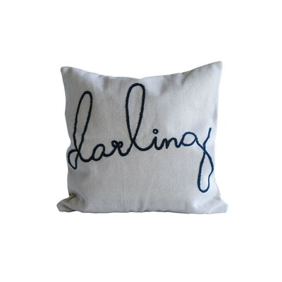 """Darling"" Pillow"