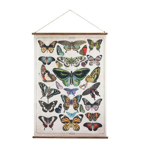 Butterfly Canvas Wall Decor