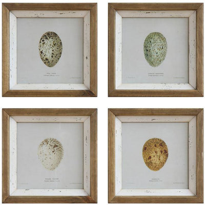 Distressed Egg Wall Decor