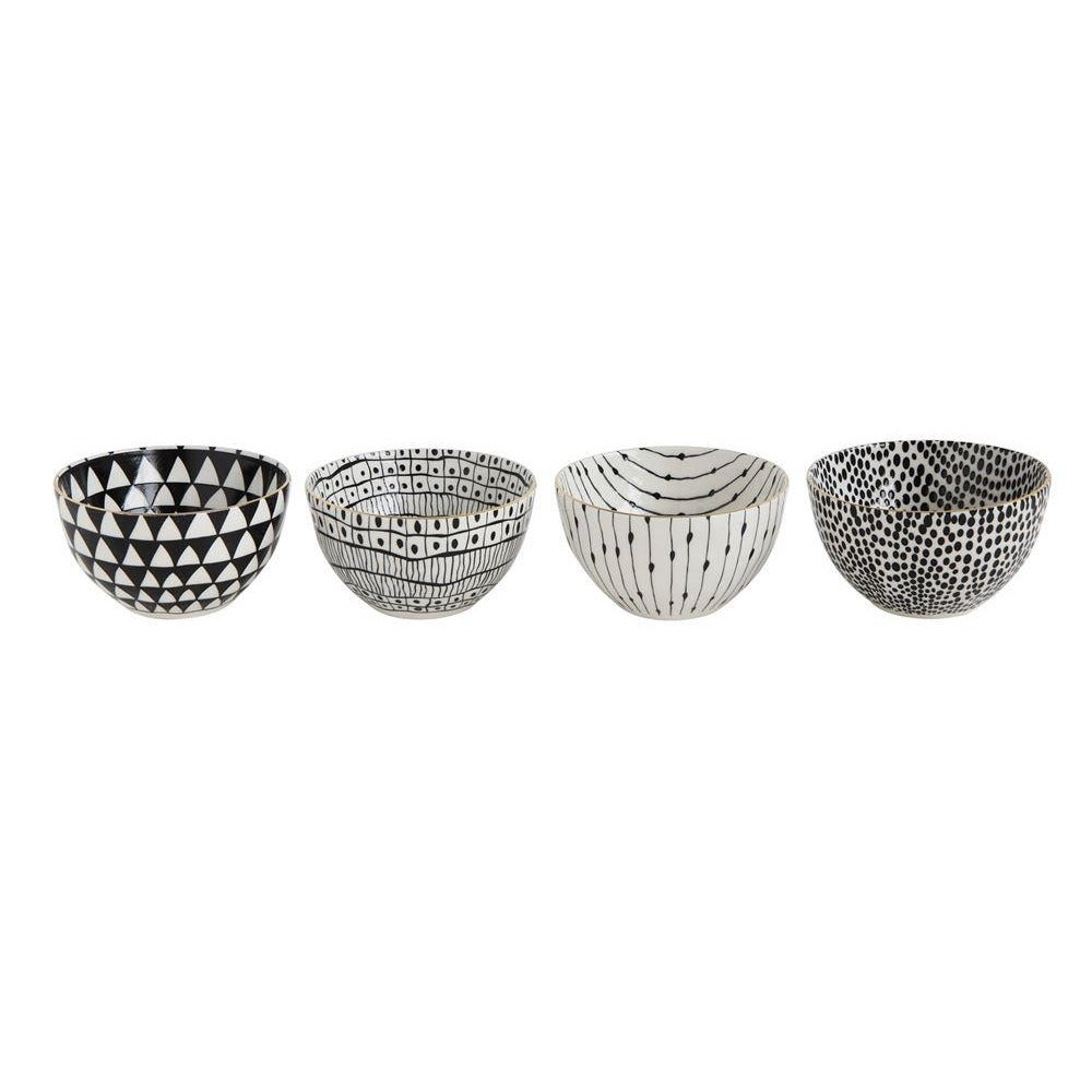 Black and White Bowls
